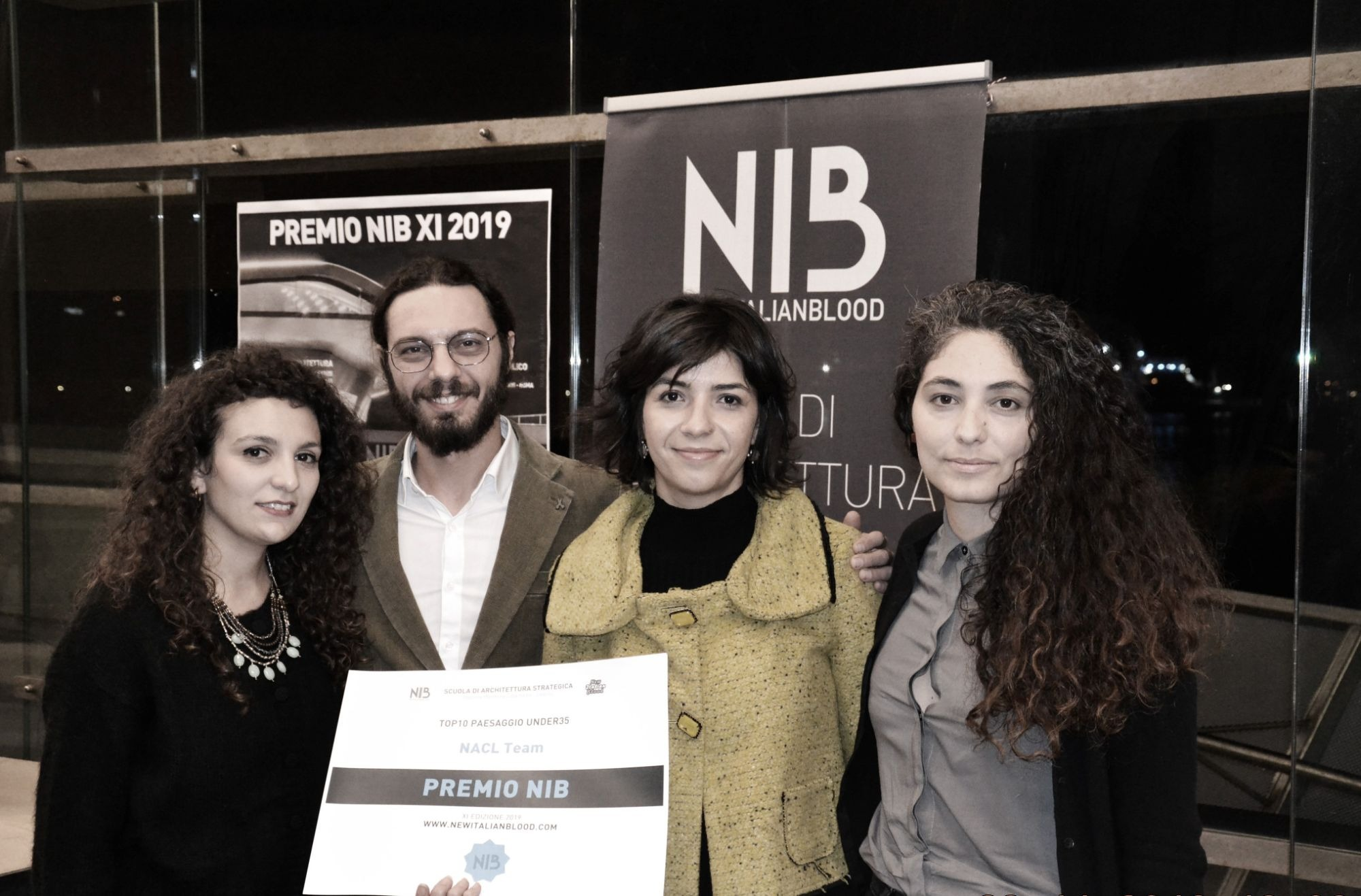 NaCl team in Top 10 al Premio NIB2019